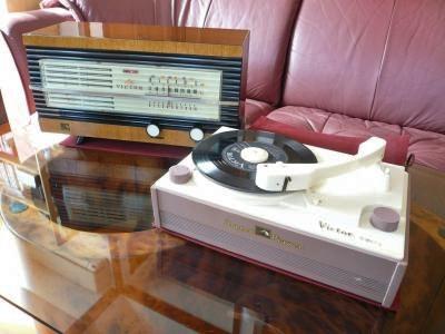 ビクター真空管ラジオとの組み合わせ