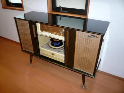ビクター Hi-Fi ステレオ・オーディオラSTL-661C 1965年製