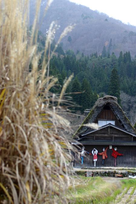 初冬を迎える白川郷の旅は・・・・観光のピークを過ぎて、ちょっとのんびり「世界遺産」をじっくり見つめられます! ⑤