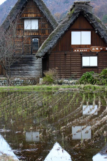 初冬を迎える白川郷の旅は・・・・観光のピークを過ぎて、ちょっとのんびり「世界遺産」をじっくり見つめられます! ⑧