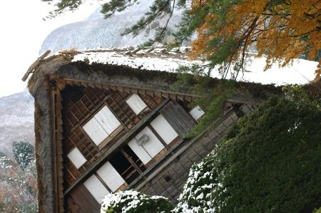白い雪で美しく表情を変える~世界遺産 白川郷~大自然と田舎らしい風景 ①