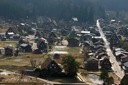 冬のご旅行・レジャーに! 冬のお出かけは世界遺産 白川郷で決まり!! ①