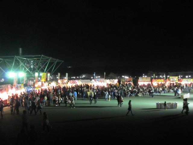万博記念公園 夜桜2013-9