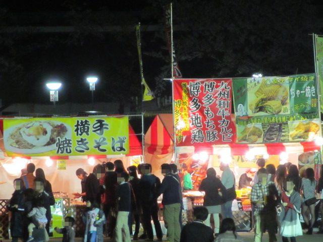 万博記念公園 夜桜2013-10