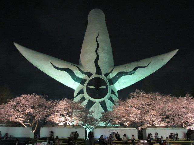 万博記念公園 夜桜2013-14