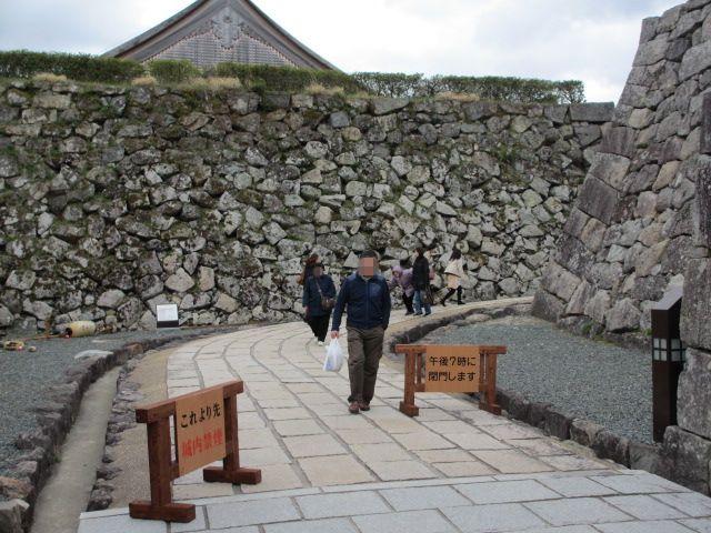 篠山城跡2013-11
