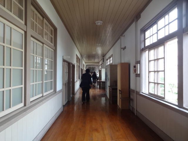 安房南高等学校 廊下