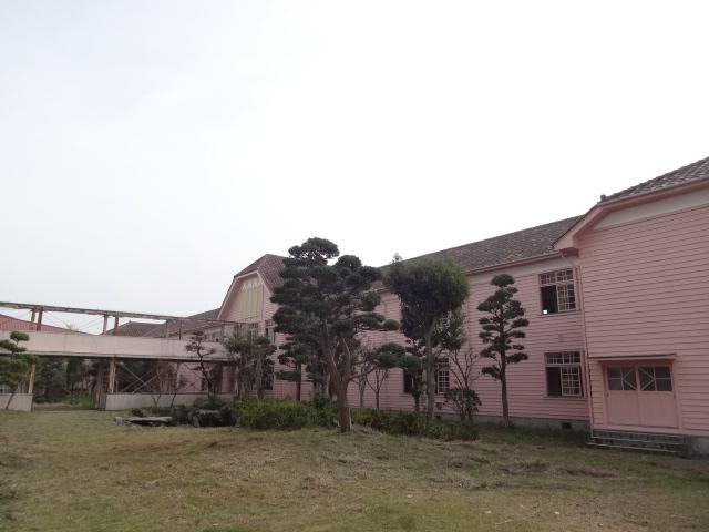 安房南高等学校 校舎裏面