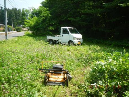 草刈り作業 (2)