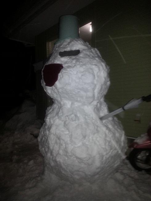 大人の雪だるま3