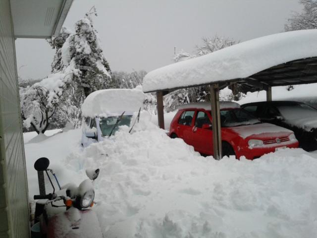 雪20140215くるま