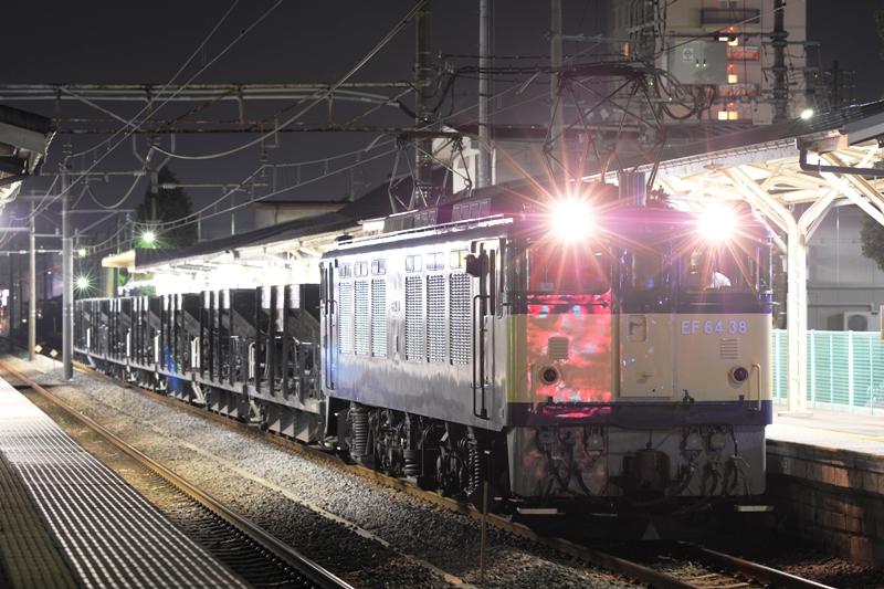 EF64 38+ホキ