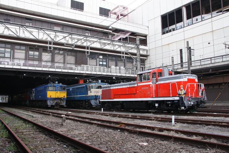 DE10 1999+EF65 541 EF65 1059+EH500+DD51