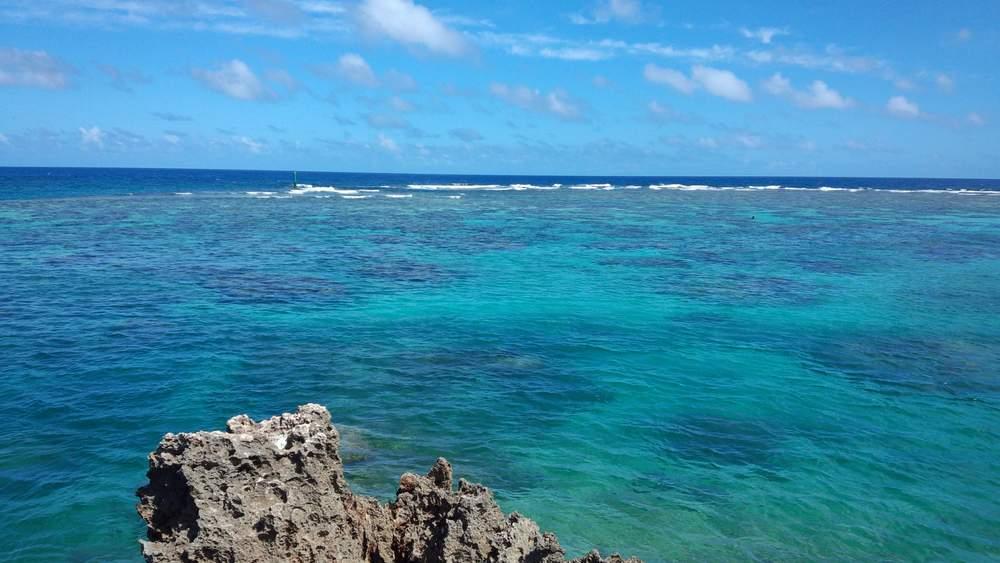ビーチの海拡大