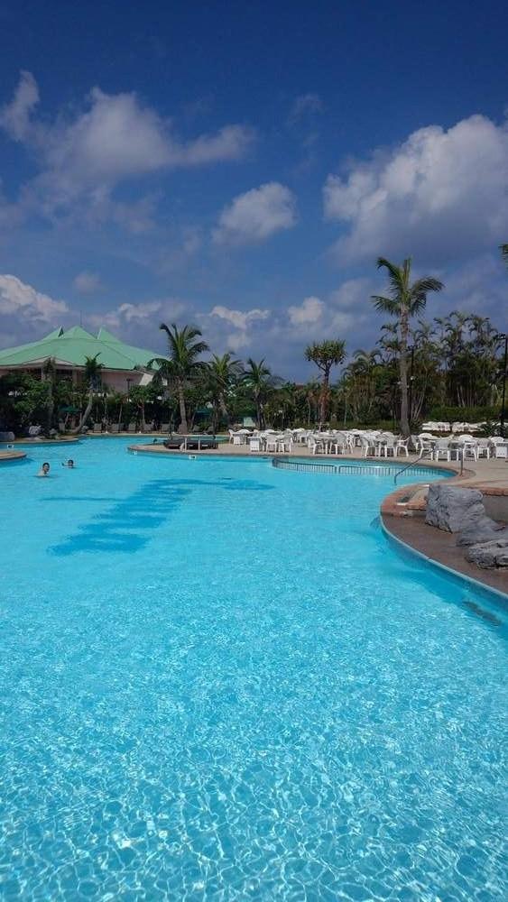DSC_0014 ホテルのプール