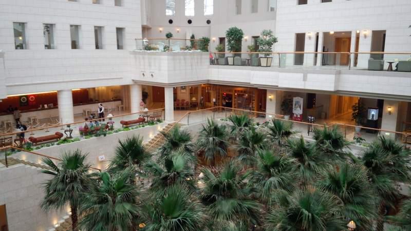 ホテル内の様子
