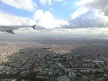 イスタンブール上空
