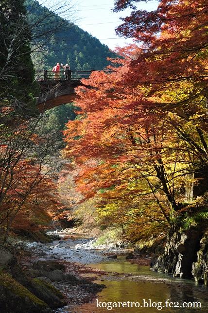 2014大芦渓谷の紅葉3