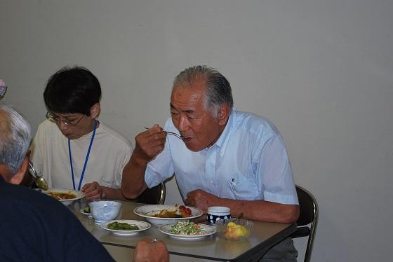 会長と食事