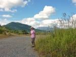 蒜山を背景にしてススキも空も 最高