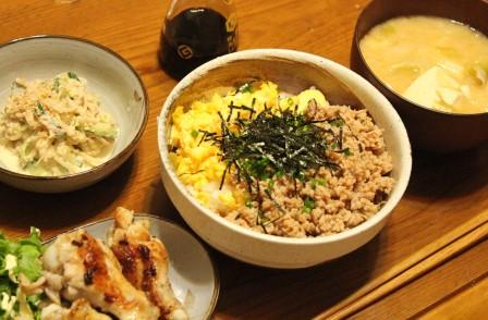 25日の夕飯
