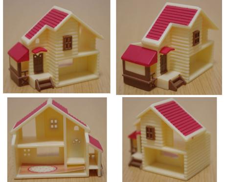 s合体 赤い屋根の大きな家