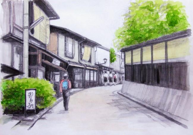 三年坂への道 (650x455)