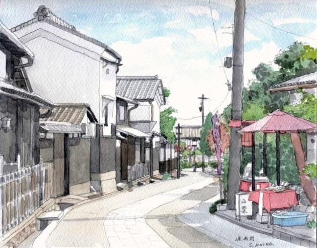 嵯峨野の道1 F4 (650x510)