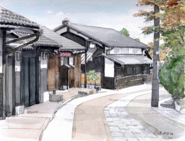 嵯峨野の道2 F4 (650x500)
