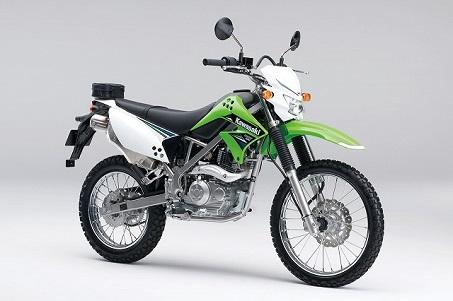 14KLX125 ライムグリーン