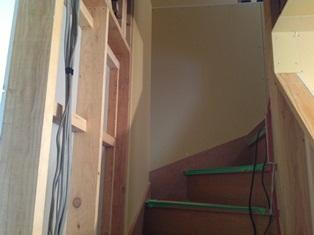 階段廻り造作