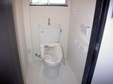 衛生設備工事トイレ設置完了