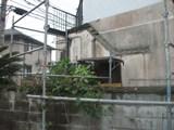 解体工事 鉄骨階段撤去完了