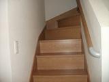 階段設置完了2