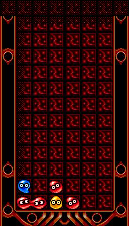 赤ゾロの置き方1-2
