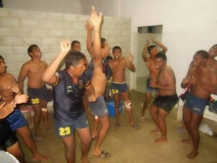 勝利のダンス