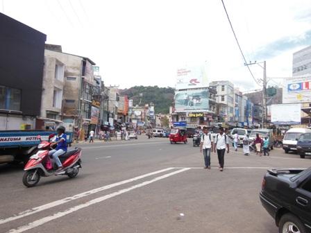 スリランカ市内