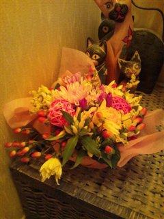 クニさんからお花