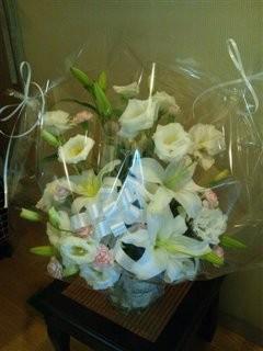 クロpapaさんからお花