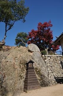彦根城の紅葉 1jpg