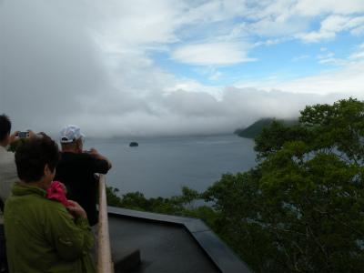 7月29日の摩周湖