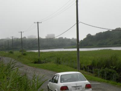 霧の街釧路