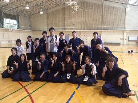 京教大、京府大、同志社剣練会と台湾からの留学生
