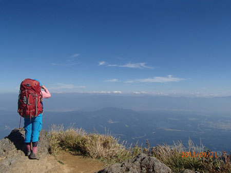 130920夜~23myoko-hiuchi3-斑尾・野尻湖を俯瞰