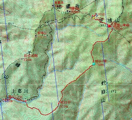 20131012南奥駈地図1日目