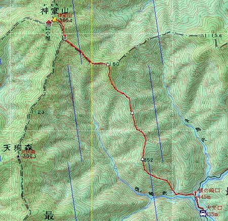 20130920神室連峰地図1
