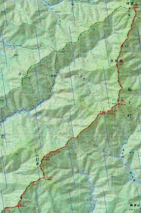 20130920神室連峰地図2