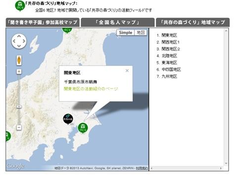 関東チーム活動フィールド