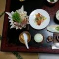 幸楽宿の夕食1