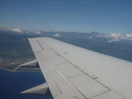 36飛行機から見えたラメラウ山